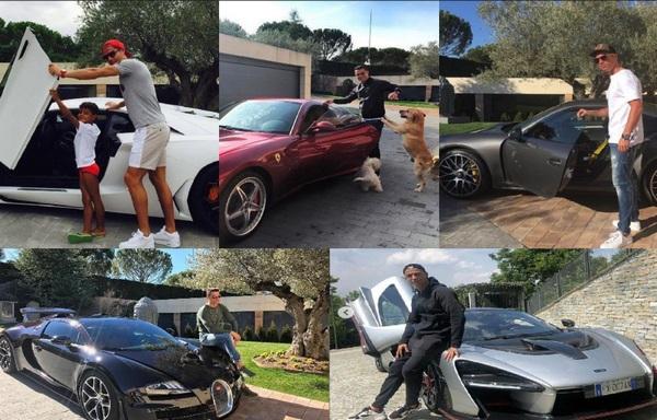 Ronaldo-s-cars