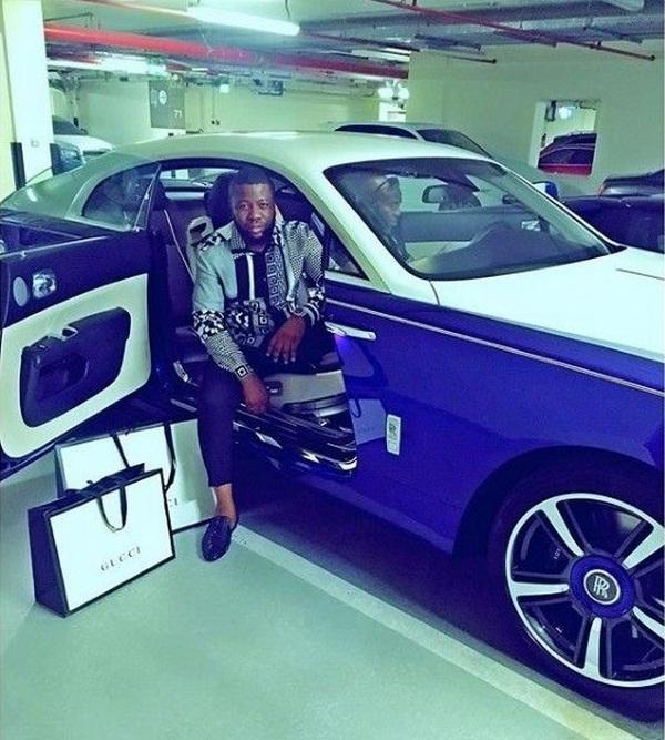 Hushpuppi-Rolls-Royce