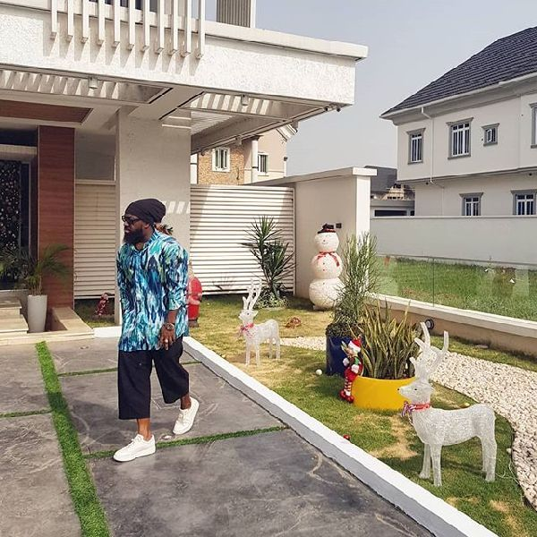 Timaya-by-his-mansion