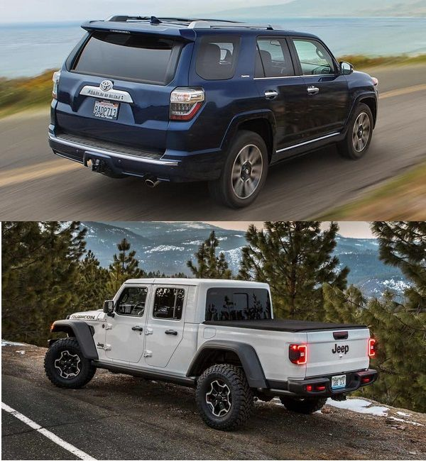 Toyota-4runner-and-the-Jeep-Gladiator-outside