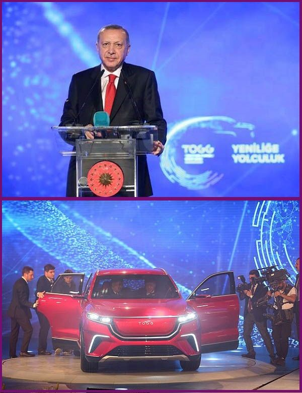 President-Recep-Tayyip-Erdoğan-unveils-the-first-set-of-indigenous-electric-cars-in-Turkey