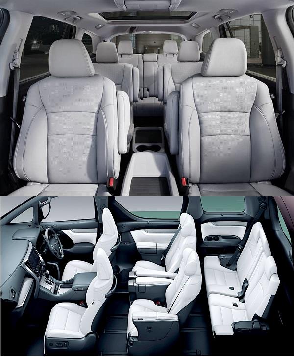 Honda-Pilot-and-the-Kia-Sorento-seats