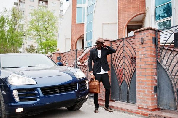 black-man-with-car