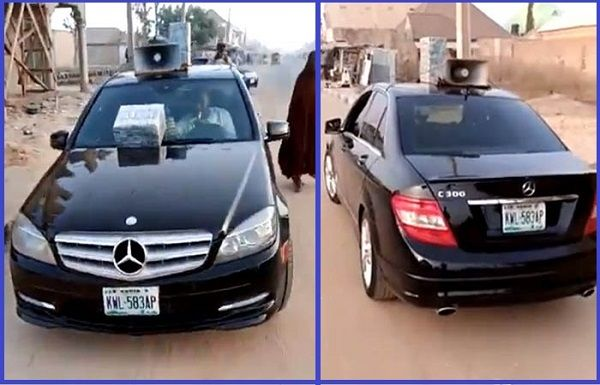 Man-sells-herbs-with-Mercedes-Benz-C300-in-Nigeria