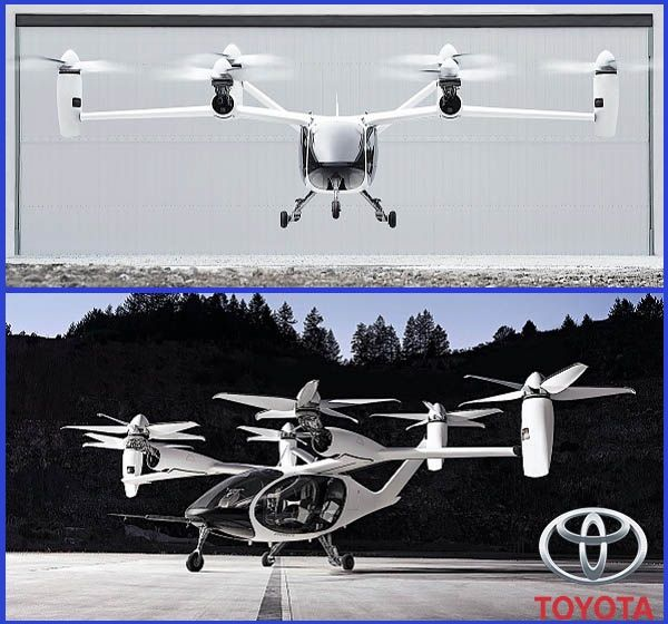 Toyota-invests-in-flying-cars