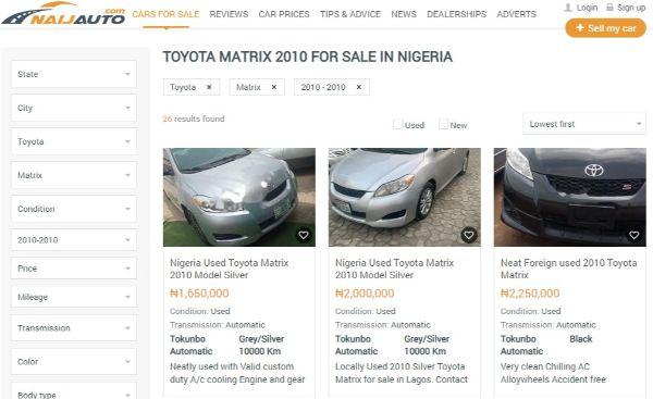 toyota-matrix-2010-for-sale-on-naijauto-com