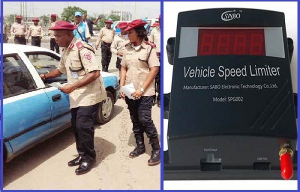 Nigeria-FRSC-and-vehicle-Speed-limiter-device