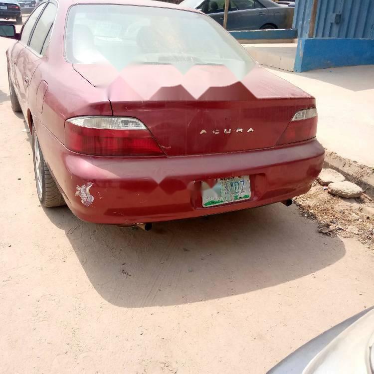 Nigeria Used Acura TL 2003 Model Red
