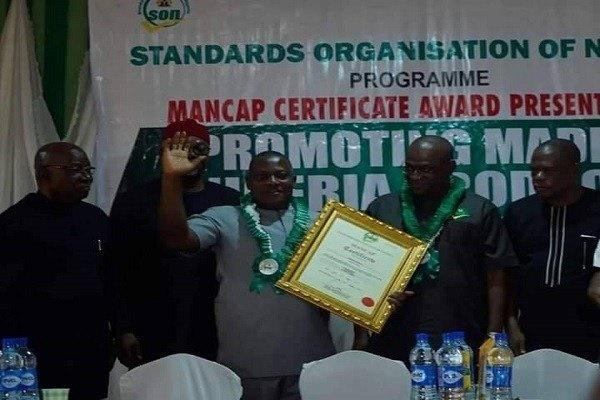Innoson-CEO-receives-the-MANCAP-certificate