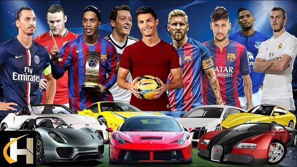 Cars-of-football-stars