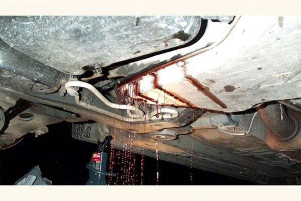 leaking-fluid-of-a-car
