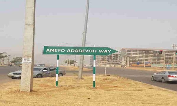 Ameyo-Adadevoh-way-in-Abuja