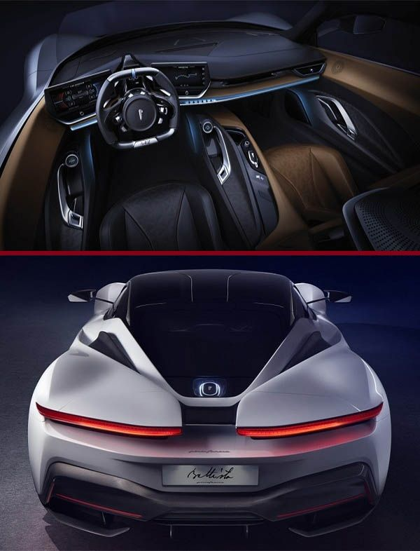 Interior-and-back-view-of-Pininfarina-Battista-hypercar