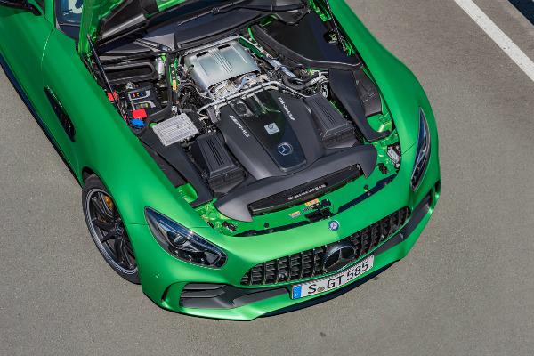 engine-of-a-AMG-mercedes-Benz-car