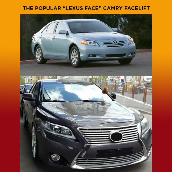 Upgrading Toyota muscle to Lexus face