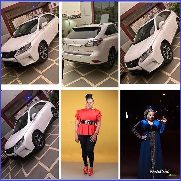 Nollywood-actress-Gift-Mbanaso-buys-new-Lexus-RX-SUV-as-birthday-gift