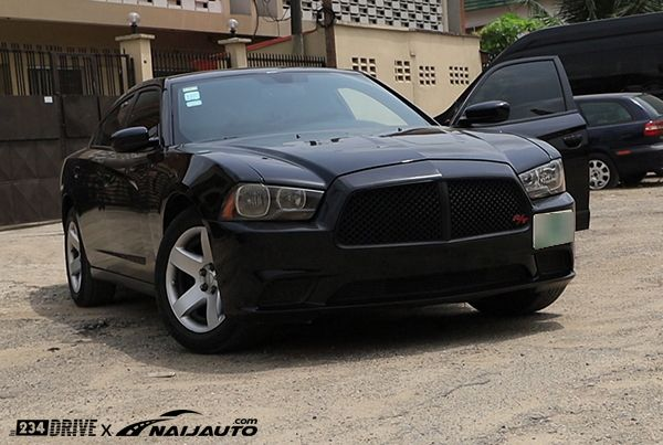 angular-front-of-the-Dodge-charger-in-Nigeria
