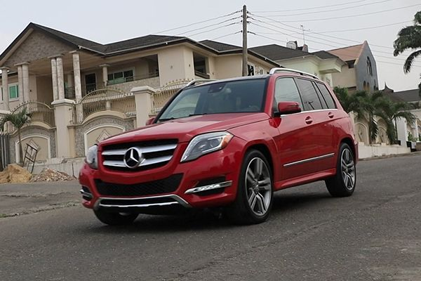 angular-front-of-a-red-mercedes-Benz