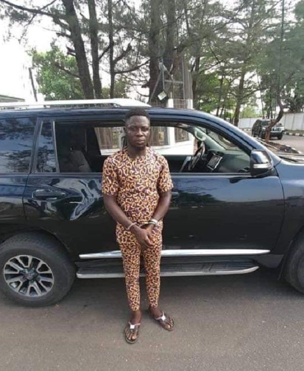 Arrested-youth-among-attackers-of-Governor-Hope-Uzodinma-Lexus-570-car