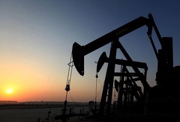 Crude-oil-wells