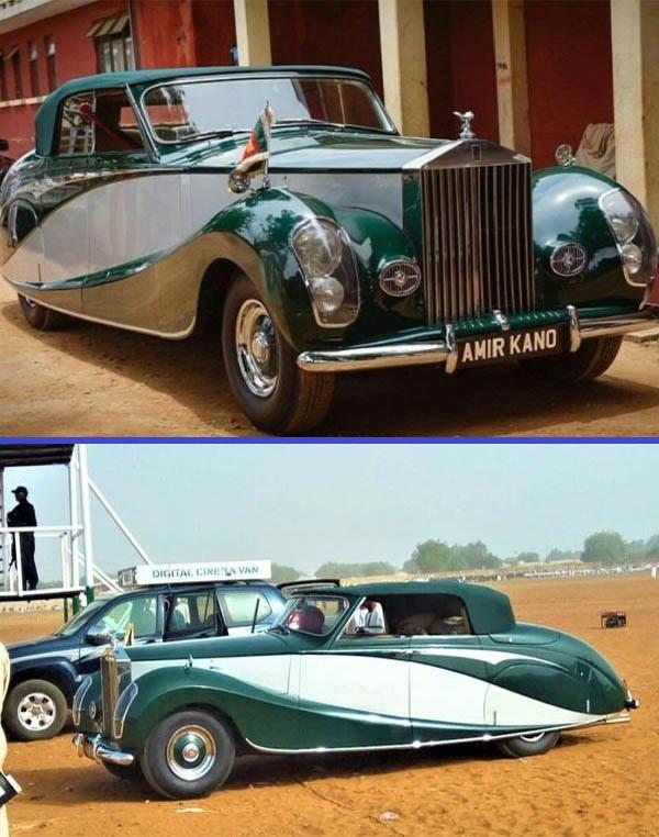 1952-Rolls-Royce -Silver-Wraith-of-Amir-Kano