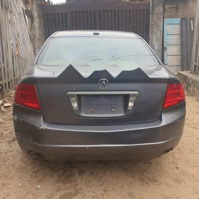 Nigeria Used Acura TL 2006 Model Gray