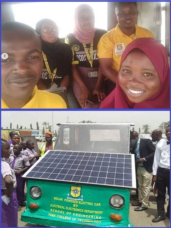 Yabatech-students-solar-powered-car