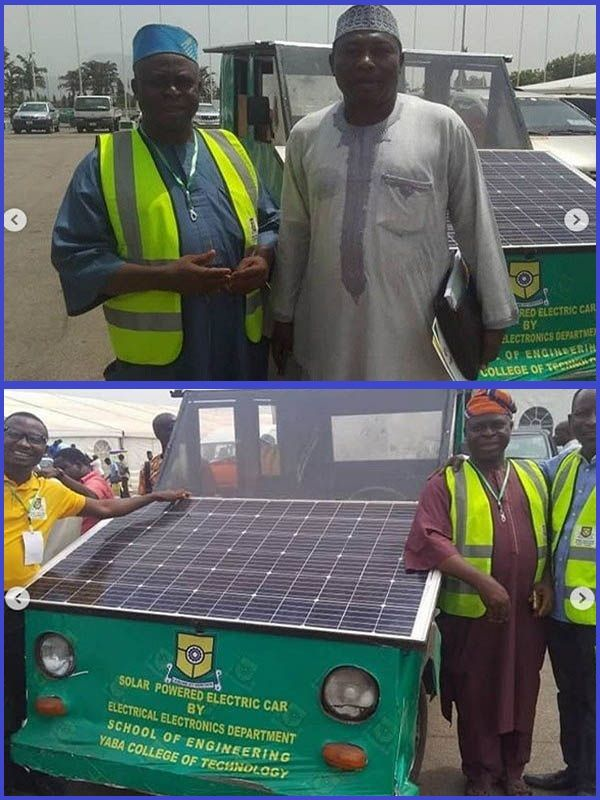 Yabatech-students-unveils-solar-powered-electric-car-to-minister