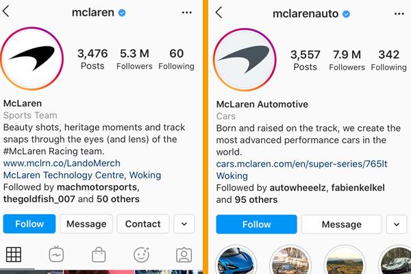 mclaren-IG-pages