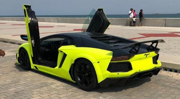 The-Lamborghini-Aventador-masnsory-special-edition-in-Nigeria (Source : Car continent)