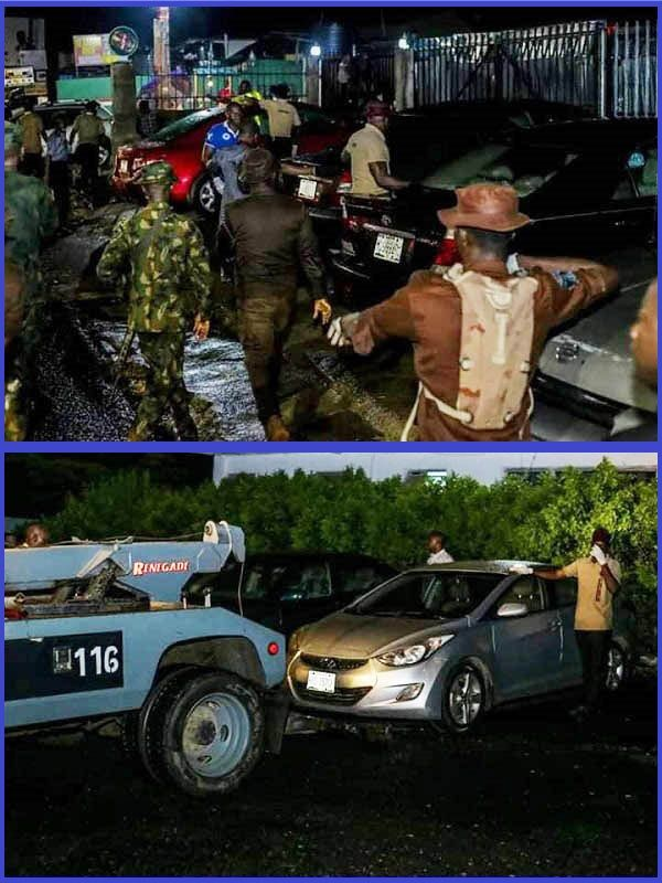 Oyo-state-police-impounds-22-cars-from-club-houses-amidst-coronavirus-outbreak