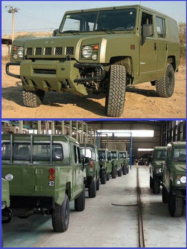 Innoson-IVM-G12-military-vehicle