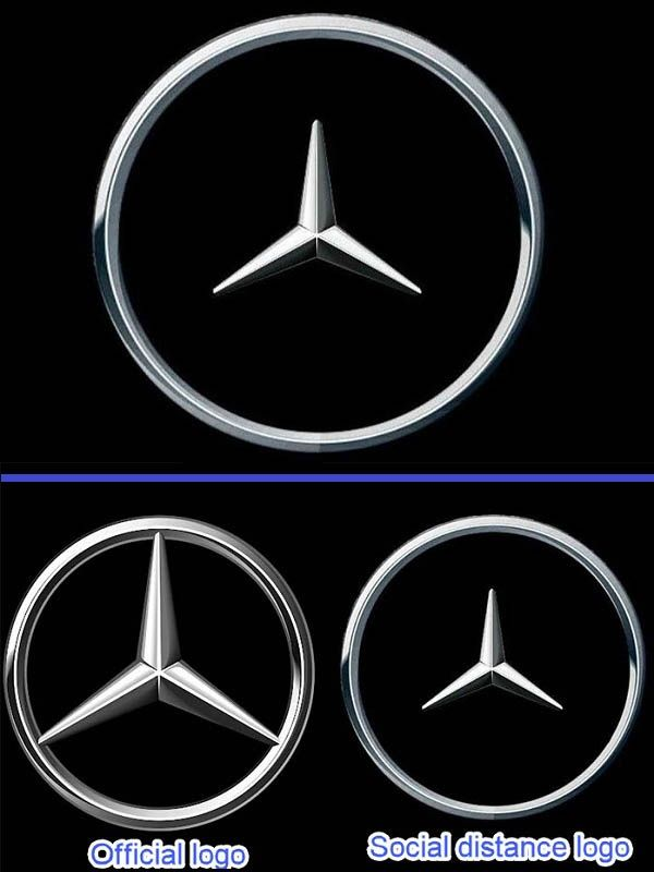 Mercedes-Logo-promotes-social-distancing-amidst-Coronavirus-outbreak