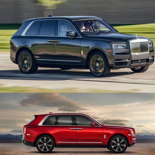 Side-and-front-view-of-the-Rolls-Royce-Cullinan-exterior