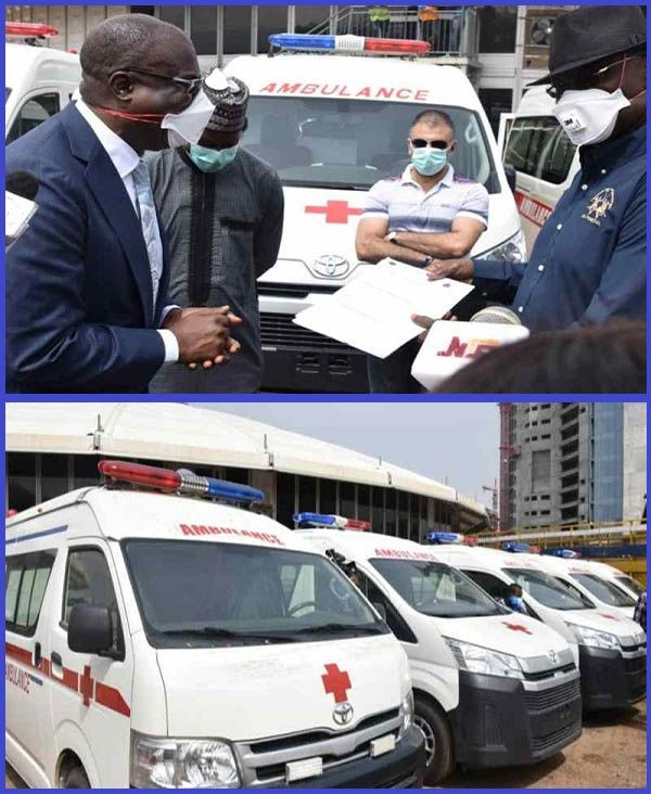 Minister-of-State-Petroleum-Resources-hands-over-five-ambulances-to-Nigeria-SGF
