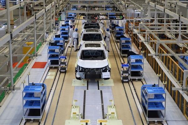Honda-production-plant