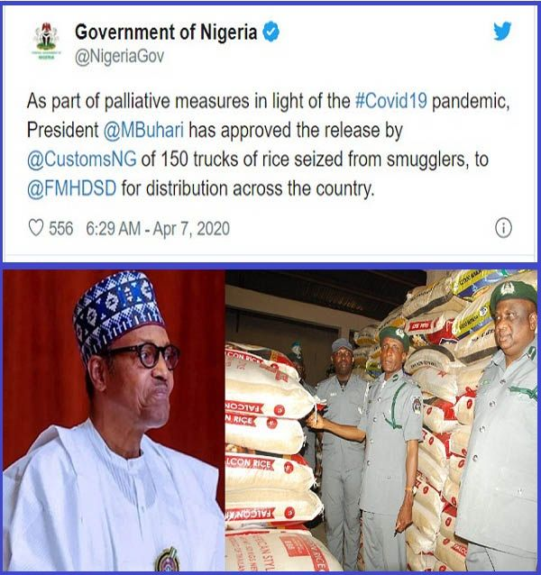 FG-orders-Nigeria-Customs-to-release-seized-trucks-of-rice