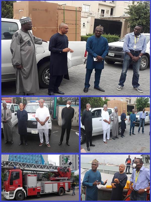 NIMASA-presents-ambulances-buses-ventilators-to-Lagos-Government
