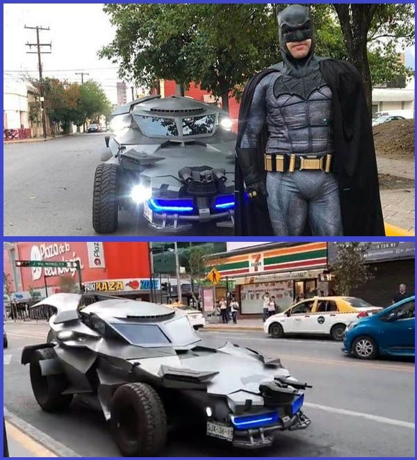 Batman-with-Batmobile-spotted-in-Mexico