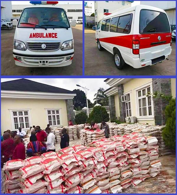 Innoson-donates-ambulance-and-relief-materials-to-Anambra-state