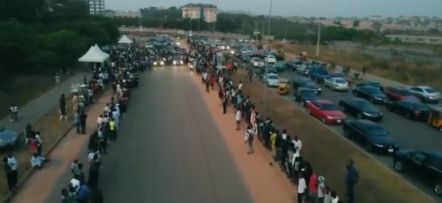People-gathered-for-a-drag-race-event-in-Abuja.