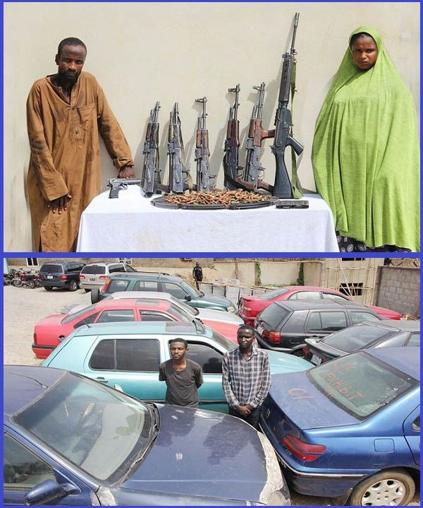 Notorious-car-snatchers-arrested-by-police-in-Jos