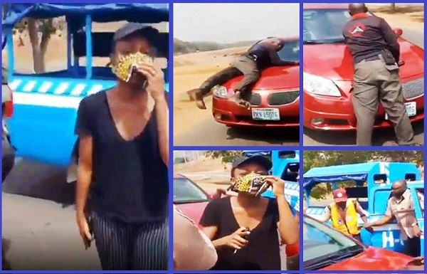 FRSC-attempted-assault-of-Abuja-woman-that-had-altercation-with-police-over-COVID-19