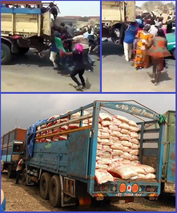Hunger-struck-Abuja-resident-steal-rice-from-moving-truck