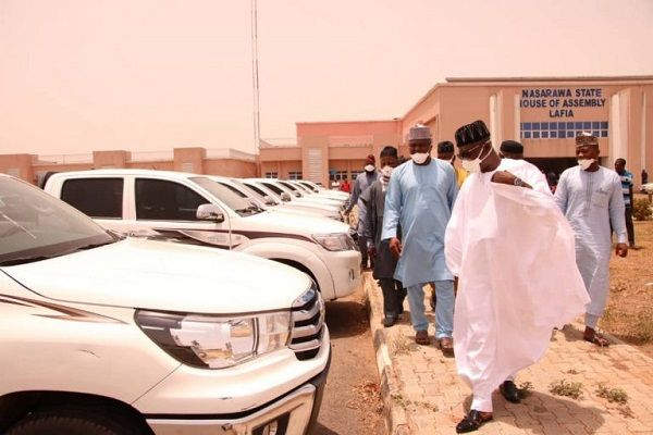 Nasarawa-state-government-buys-Toyota-Hilux-worth-₦500Million-for-lawmakers