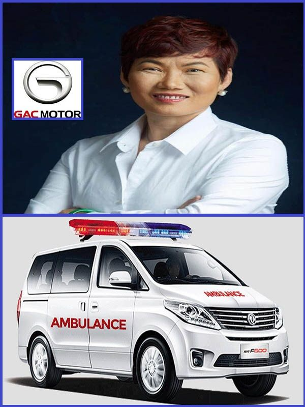 Chief-Diana-Chen-of-GAC-Motors-donates-face masks-ambulance-to-fight-COVID-19-in-Nigeria