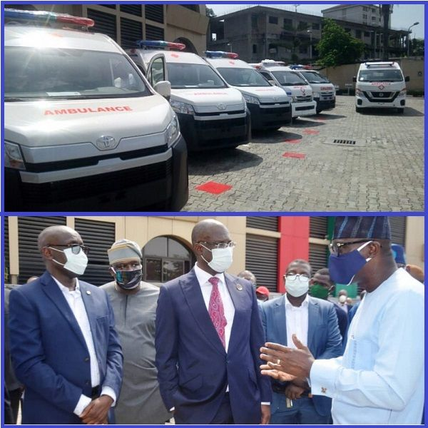 NNPC-donate-ambulance-to-south-west-states