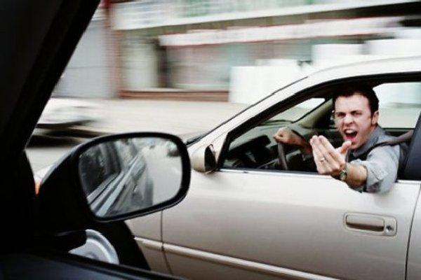 Road-rage-scene