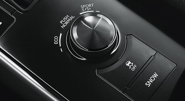a-switch-knob-for-different-driving-modes-on-car