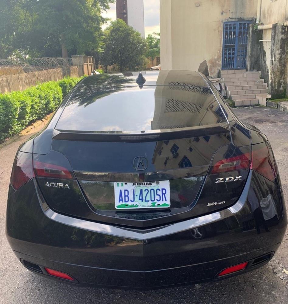 Nigeria Used Acura ZDX 2011 Model Black